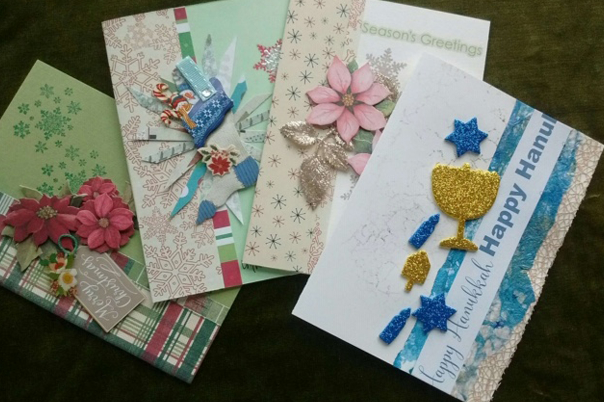 Admirable Handmade Greeting Card Workshop Colonie Senior Service Center Funny Birthday Cards Online Alyptdamsfinfo